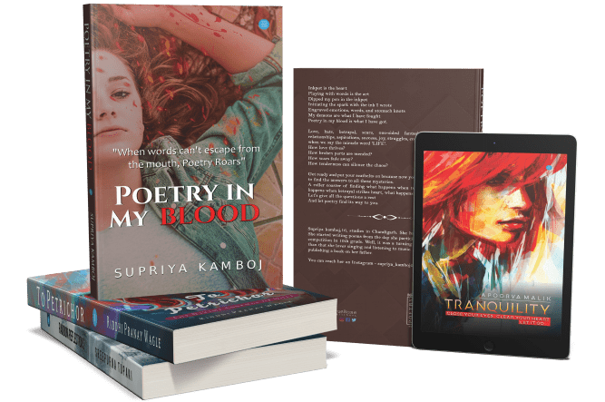 Self-publishing a book of poetry with blue rose publishers